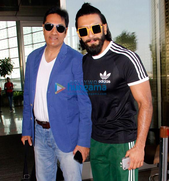 रणवीर सिंह, उर्वशी रौतेला और अन्य लोग हवाईअड्डे पर आए नजर