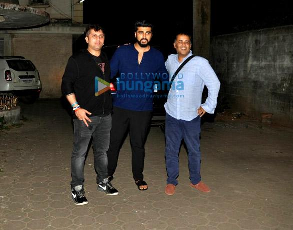 अर्जुन कपूर और आदित्य रॉय कपूर मोहित सूरी के घर पर आए नजर