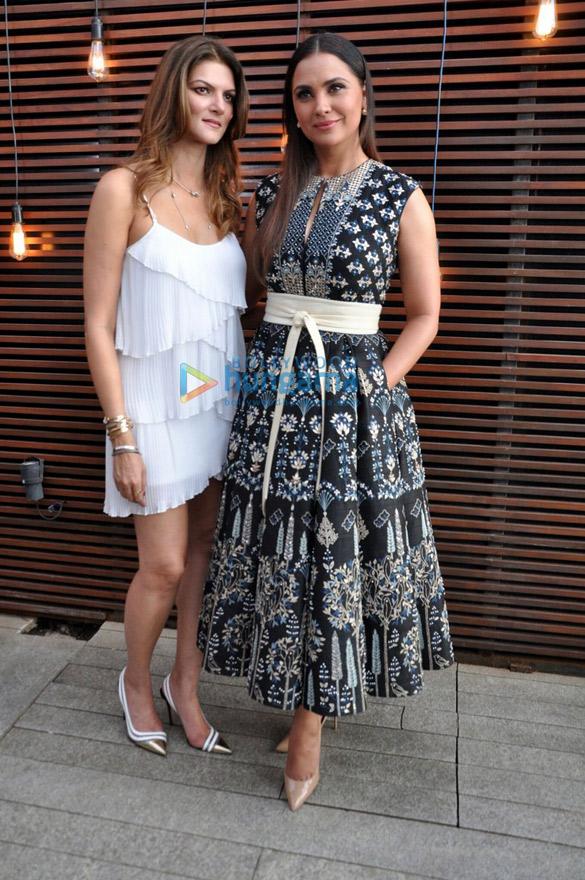 लारा दत्ता और नंदिता महतानी मिस दिवा प्रमोशन में शामिल हुईं