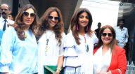 मुंबई में नजर आईं शिल्पा शेट्टी