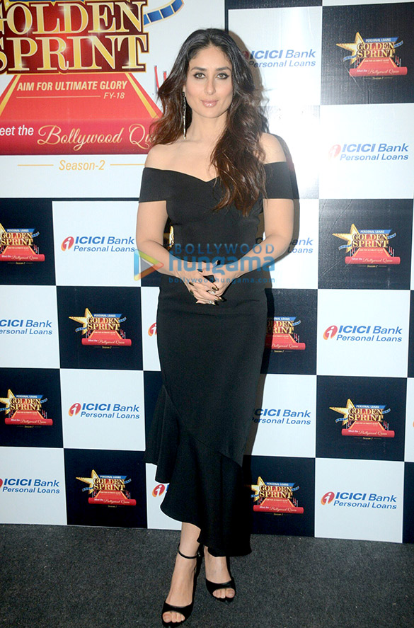 करीना कपूर खान 'आईसीआईसीआई - गोल्डन स्प्रिंट' समारोह में शामिल हुईं