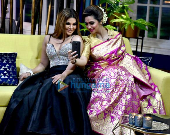 राखी सावंत, अर्शी खान और एज़ाज खान ने ज़ज़बात शो के लिए शूट किया