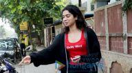 खुशी कपूर सैलुन सेशन के बाद जुहू में आईं नजर