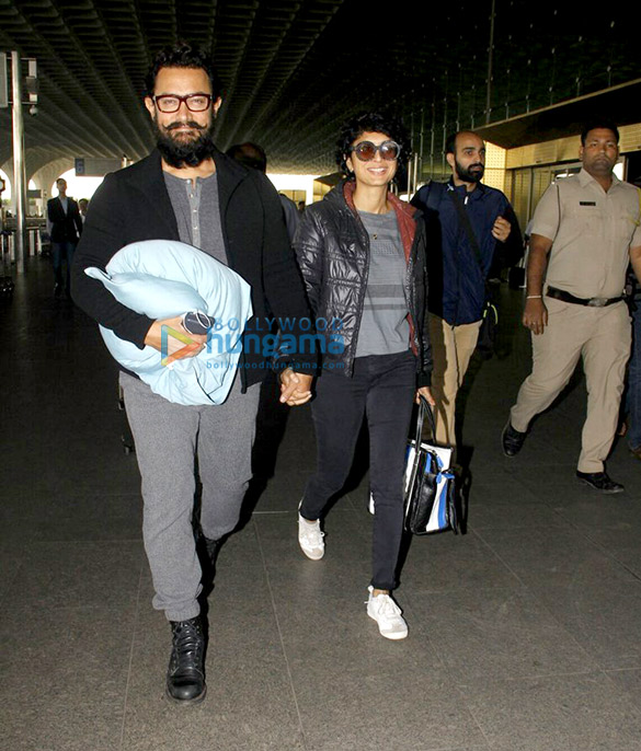 आमिर खान, ह्रितिक रोशन, युवराज सिंह और अन्य हवाई अड्डे पर आए नजर