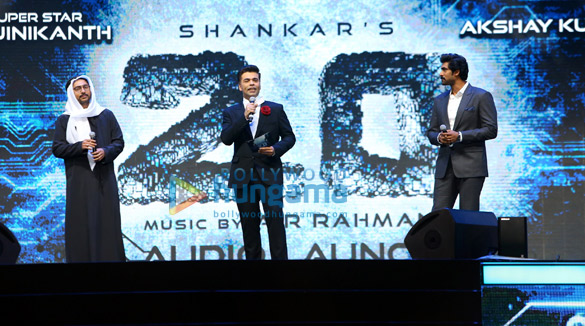 दुबई में '2.0' का ग्रैंड म्यूजिक लॉन्च हुआ