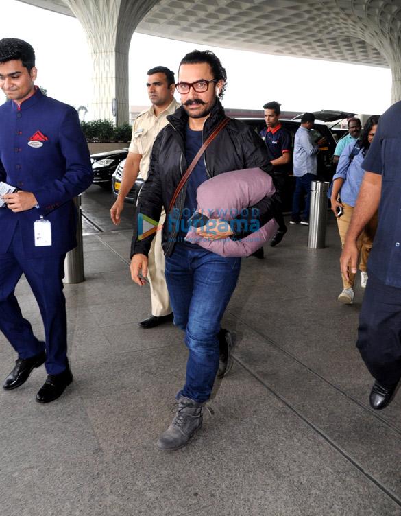 आमिर खान, अक्षय कुमार, सनी लियोन और अन्य हवाई अड्डे पर आईं नजर