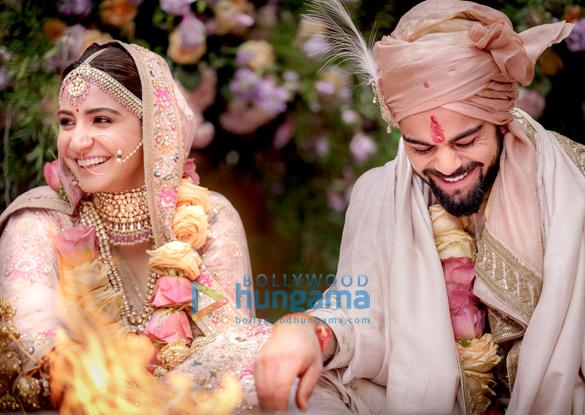 इटली में शादी के बंधन में बंधे अनुष्का शर्मा और विराट कोहली