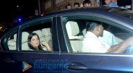दीपिका पादुकोण, रणवीर सिंह, आलिया भट्ट, रणबीर कपूर, करीना कपूर खान, ॠतिक रोशन और अन्य शाहरुख खान के घर पर एक पार्टी में शामिल हुए