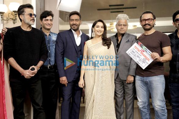 आमिर खान ने फिल्म 'टोटल धमाल' के मुहुर्त की गरिमा बढ़ाई