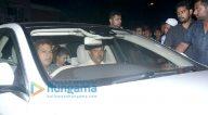 जैकलिन फ़र्नांडीज, अरबाज खान और अन्य बांद्रा में सलमान खान के घर आए नजर