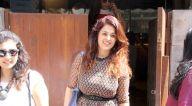 अंजना सुखानी इंडिगो में आईं नजर