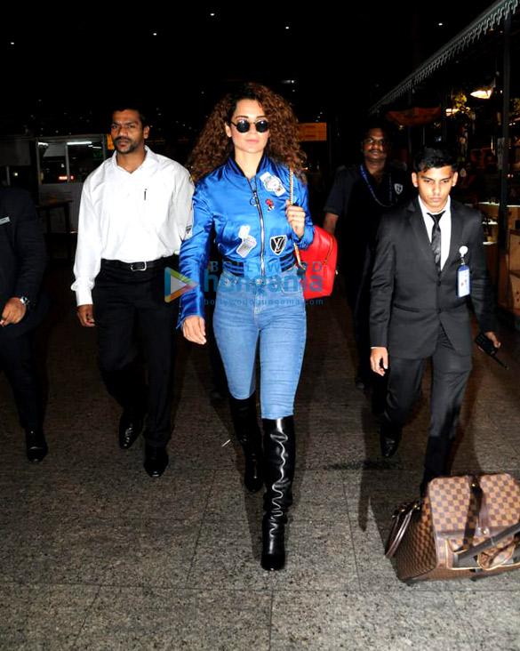 कंगना रानौत, रोहित शेट्टी और अन्य एयरपोर्ट पर आए नजर