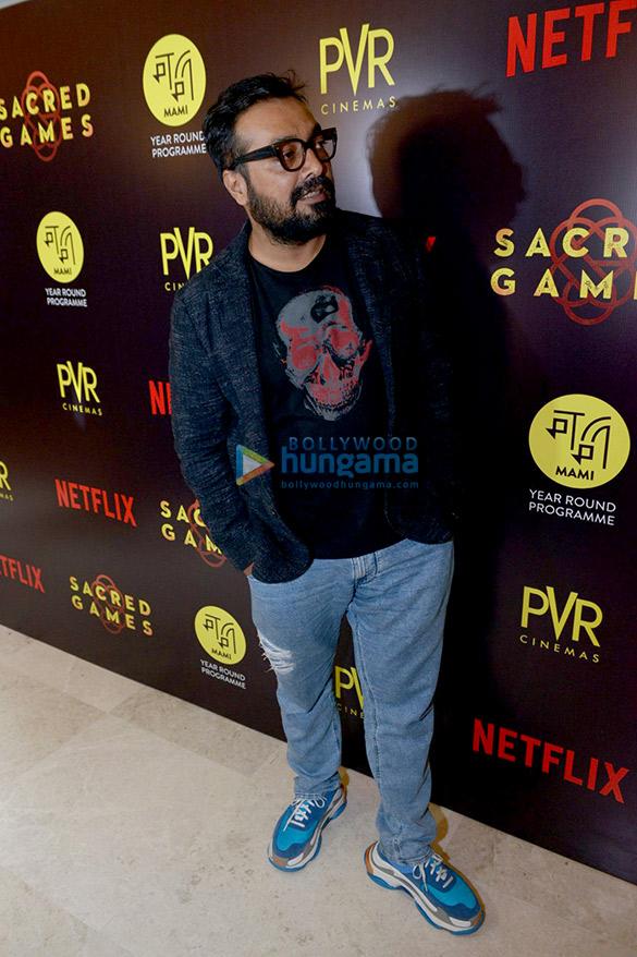 राधिका आप्टे, नवाजुद्दीन सिद्दीकी और अन्य दिल्ली में 'सेक्रेड गेम्स' के लॉन्च की शोभा बढ़ाते हुए