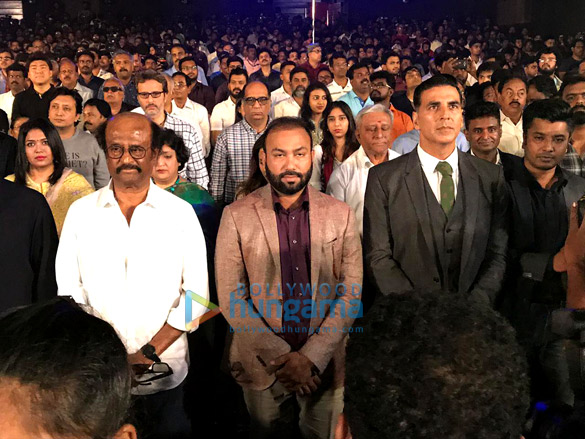 Snapped: रजनीकांत और अक्षय कुमार 2.0 के ट्रेलर लॉंच में