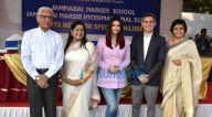 मानसिक रूप से विकलांग बच्चों की स्पोर्ट्स मीट के लिए जमनाबाई नरसी स्कूल में  पहुंची ऐश्वर्या राय बच्चन