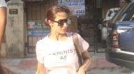 मलाइका अरोड़ा और अर्जुन कपूर लीलावती अस्पताल, बांद्रा में नजर आए