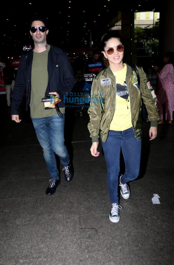 photos: शिल्पा शेट्टी, सनी लियोन, सानिया मिर्ज़ा और अन्य एयरपोर्ट पर नजर आए