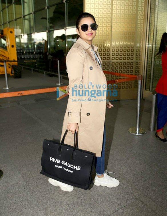 photos: परिणीति चोपड़ा, शमिता शेट्टी और अन्य एयरपोर्ट पर नजर आए