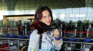 Photos: एली अवराम और रवि किशन एयरपोर्ट पर नजर आए