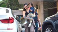 Photos: गैब्रिएला डेमेट्रियड्स अपने बेटे के साथ बांद्रा में नजर आईं