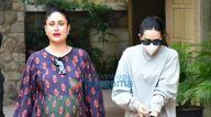 Photos: करीना कपूर खान और करिश्मा कपूर बांद्रा में नजर आईं
