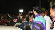 Photos: रणवीर सिंह बांद्रा में नजर आए
