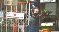 Photos: मलाइका अरोड़ा अपने डॉगी के साथ मॉर्निंग वॉक के दौरान नजर आईं