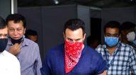 Photos: सैफ़ अली खान बीकेसी में नजर आए