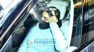 Photos: जाह्नवी कपूर बांद्रा में जैकी भगनानी के घर पर नजर आईं