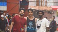 Photos: जैकी भगनानी, टाइगर श्रॉफ और रेमो डिसूजा साकी नाका में एसजे स्टूडियो के बाहर नजर आए