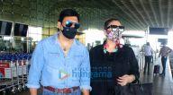 Photos: राय लक्ष्मी, सोनाली सहगल और गोविंदा अपनी पत्नी के साथ एयरपोर्ट पर नजर आए