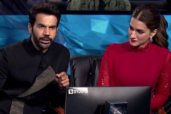 राजकुमार राव ने केबीसी पर शाहरुख खान और सनी देओल की मिमिक्री की   कृति सेनन   अमिताभ बच्चन